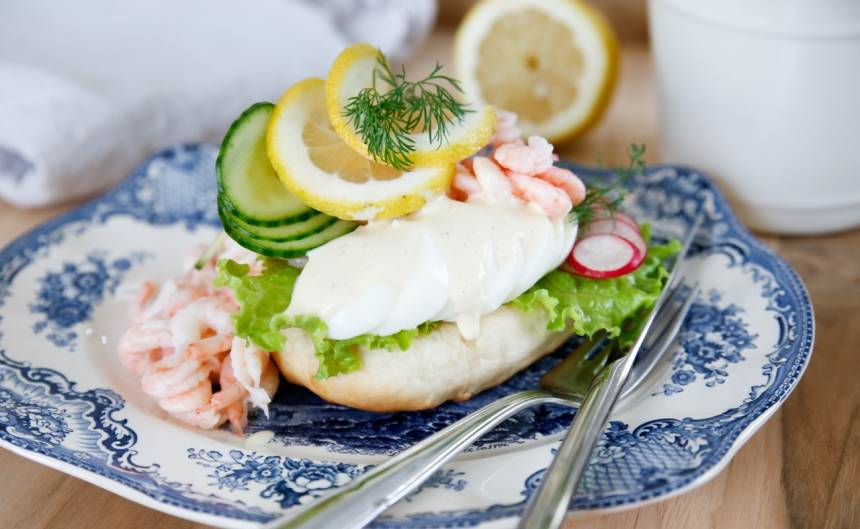 Raksmorgas: Σουηδικό open sandwich