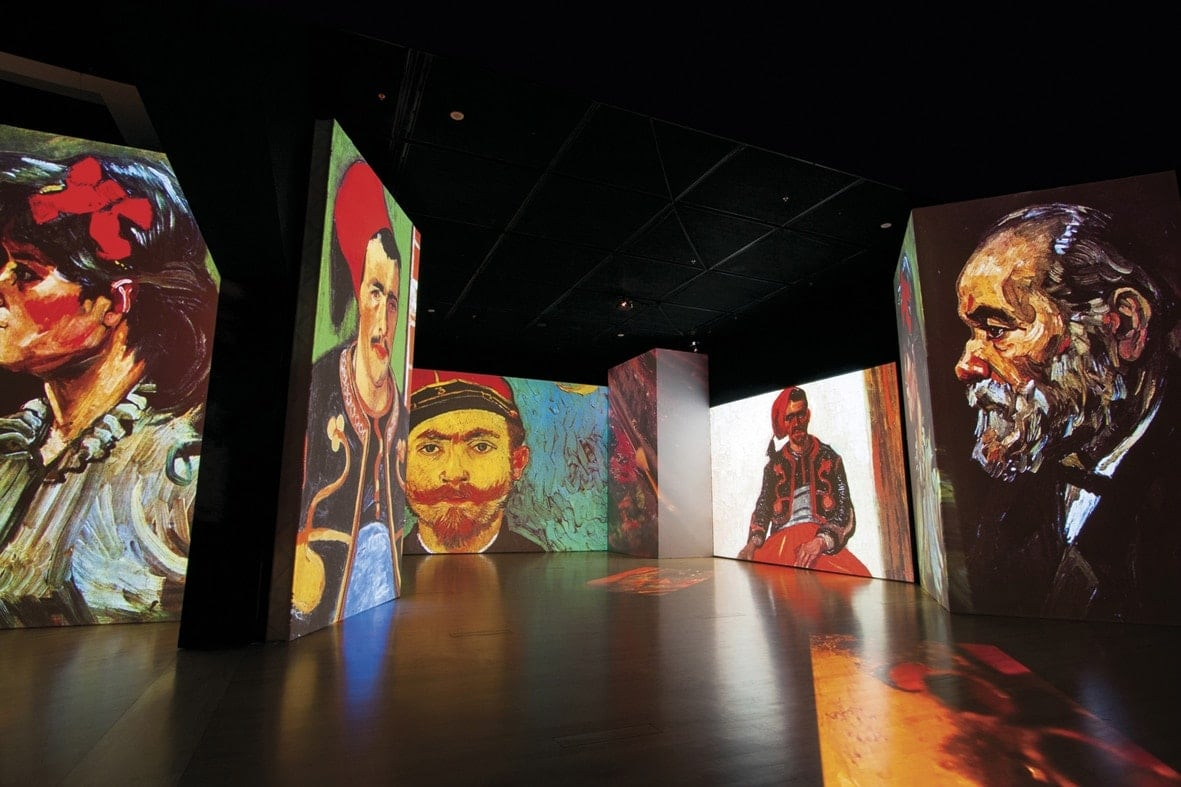 Η έκθεση Van Gogh Alive – the experience στη Θεσσαλονίκη