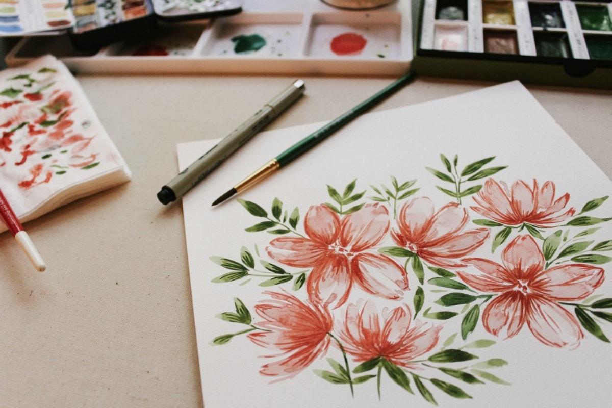 Ζωγραφική: Ώρα για αποφόρτιση και δημιουργία