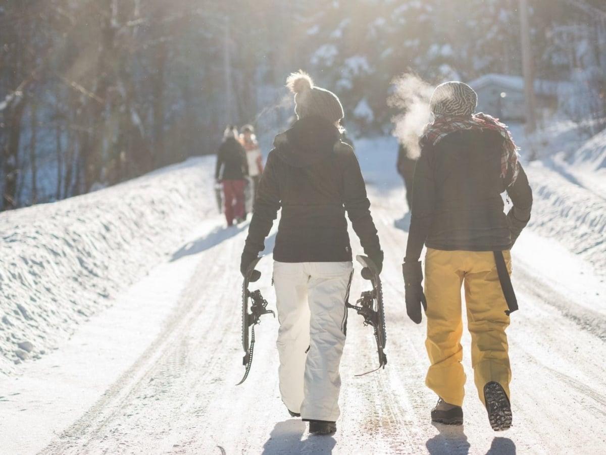 Σκι: Κατάβαση στις πλαγιές του Μπάνσκο