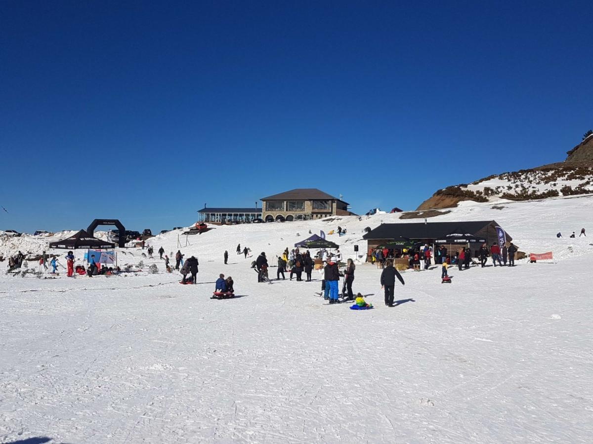 Στο  Χιονοδρομικό Κέντρο Ανηλίου, στο Μέτσοβο