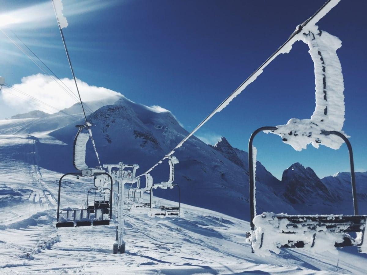 Για σκι στις πλαγιές του Παρνασσού