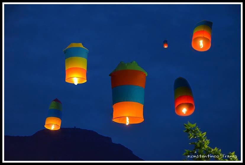 Λεωνίδιο: Με αερόστατα υποδέχονται την Ανάσταση