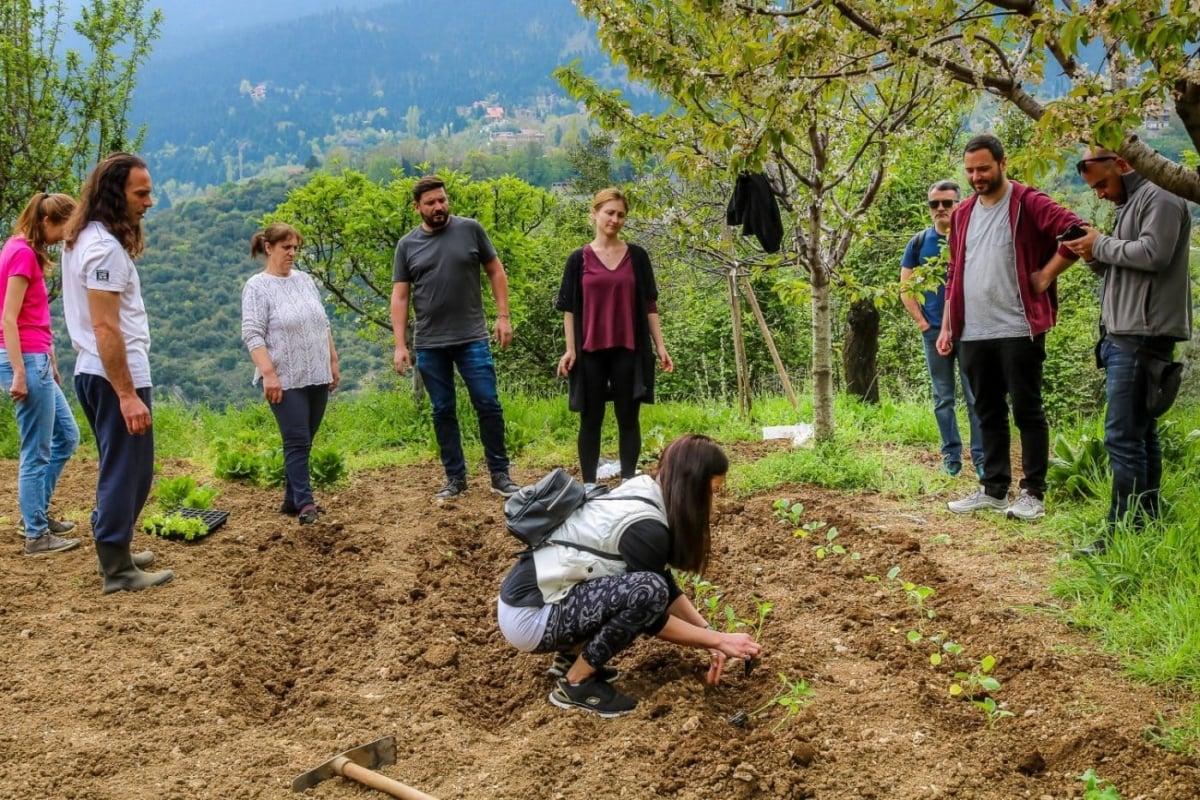 Αγόριανη: Αγροτουρισμός στις πλαγιές του Παρνασσού