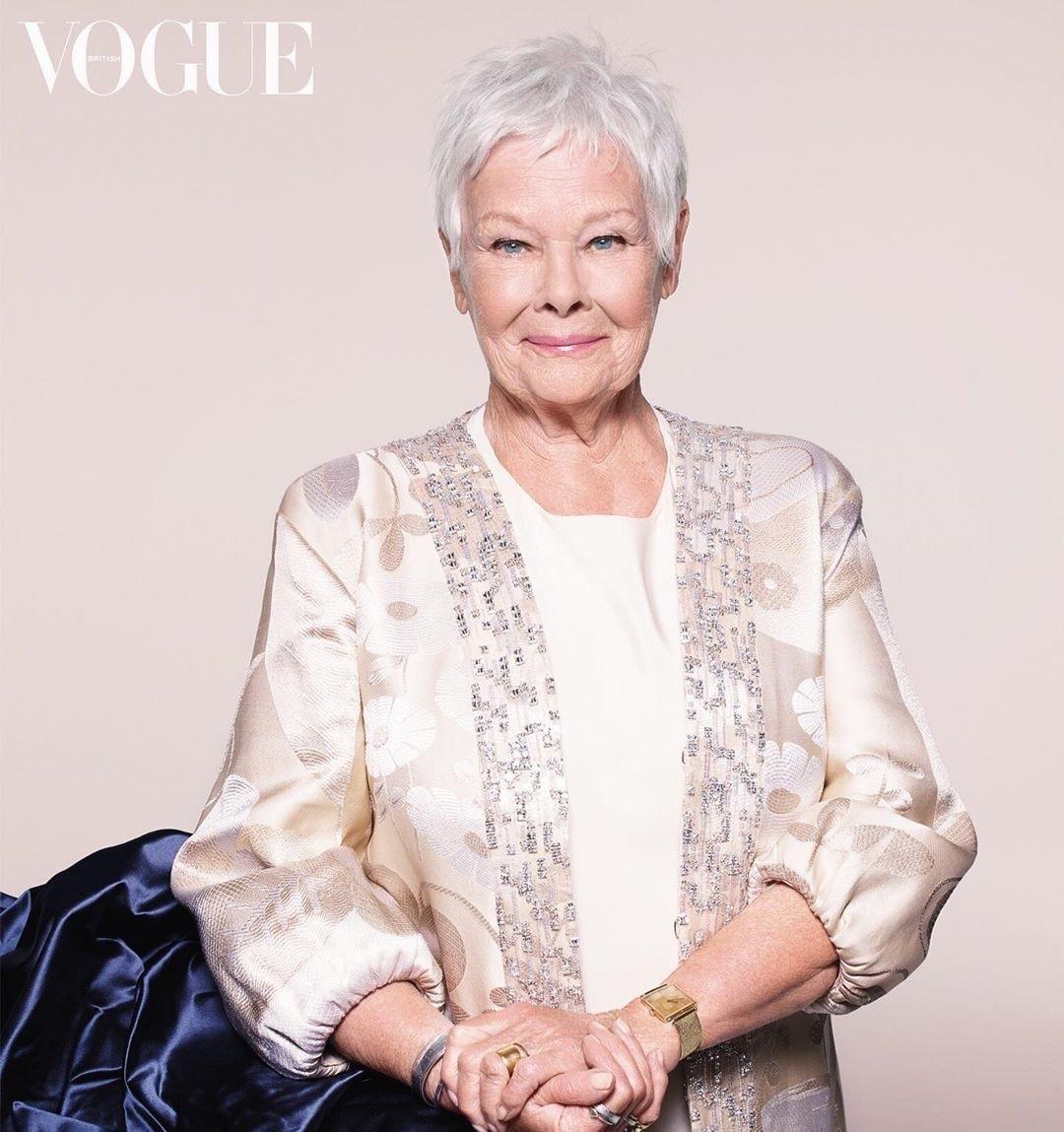 Η 85χρονη Τζούντι Ντεντς είναι το εξώφυλλο της Βρετανικής Vogue. Πόσο πρωτοποριακό!