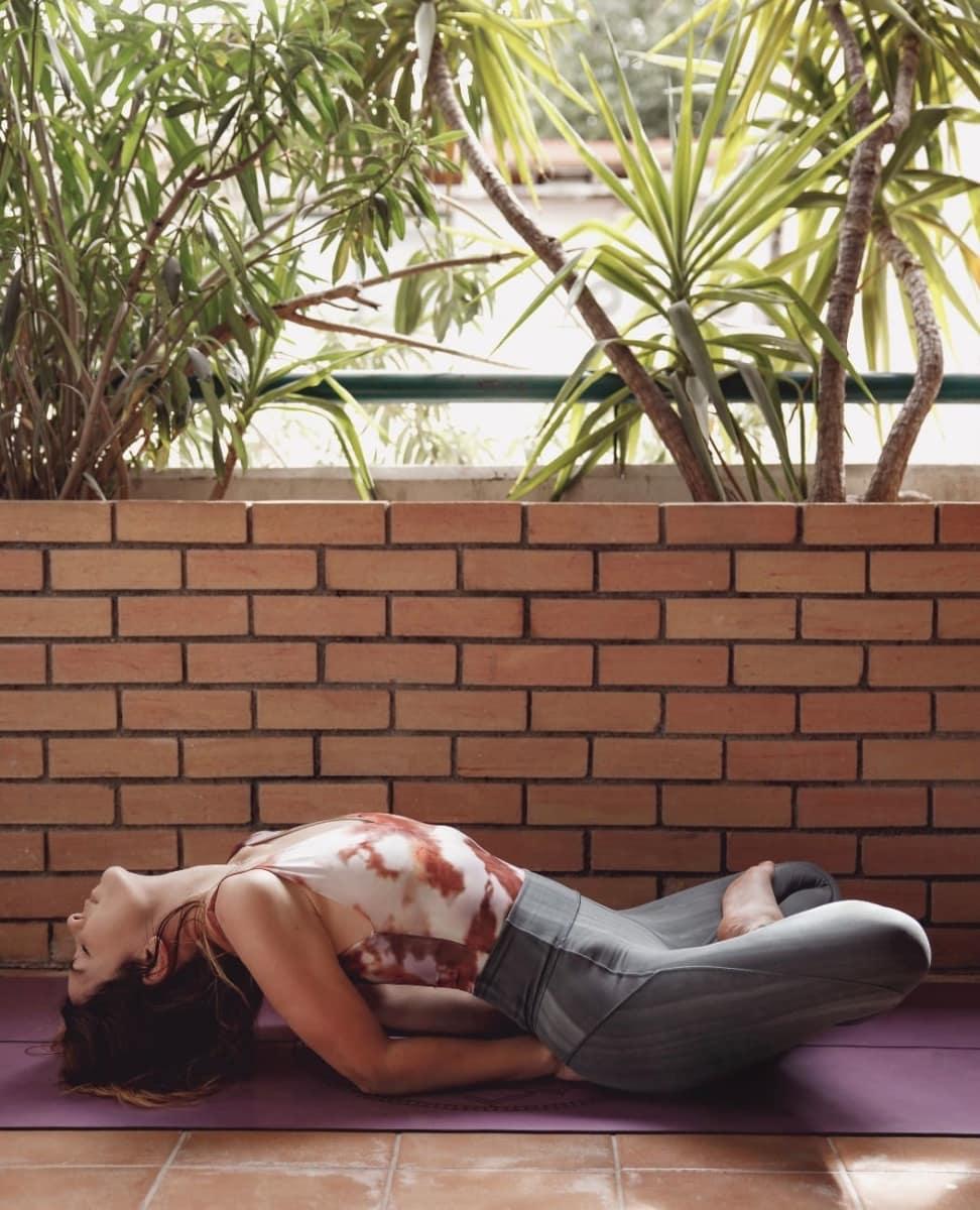 Έλενα, τι είναι αυτό που απολαμβάνεις στη yoga;;;