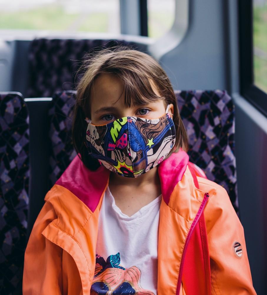 Κορονοϊός: Οδηγίες για τη μάσκα από την Ελληνική Παιδιατρική Εταιρεία