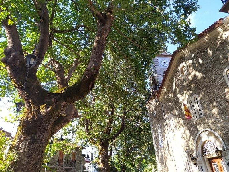 Λεωνίδιο: Μια αρχοντική κωμόπολη χτισμένη κάτω από έναν κόκκινο βράχο