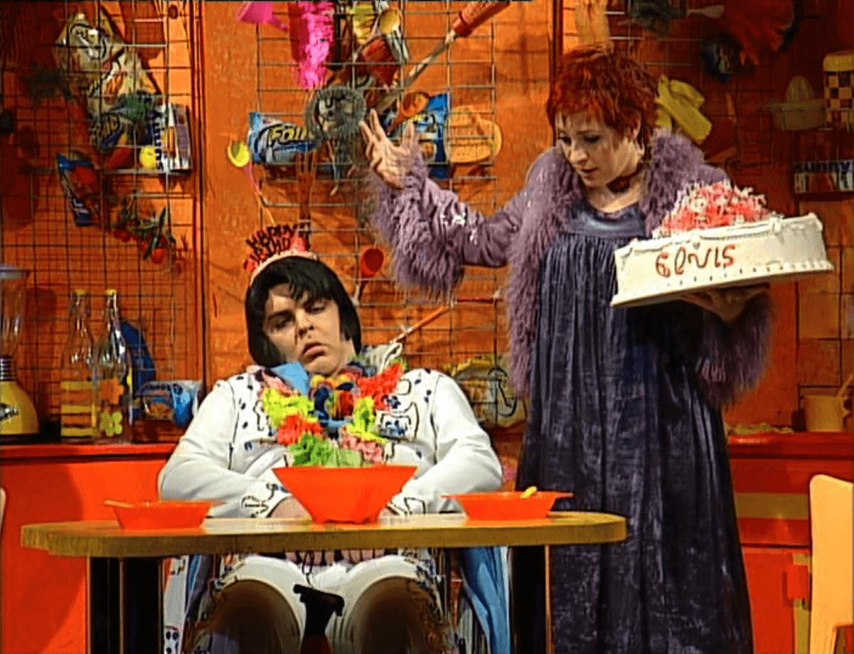 """Η Ελένη Ράντου online με τη παράσταση """"Μαγειρεύοντας με τον Έλβις"""""""