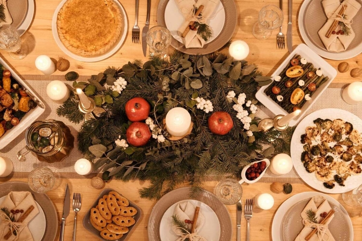 3 γιορτινά μενού για τα Χριστούγεννα