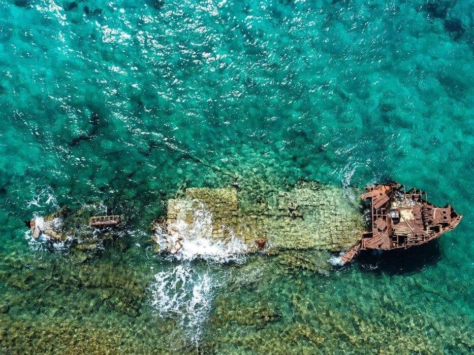 Τα ναυάγια στην Ελλάδα που μπορείς να επισκεφτείς