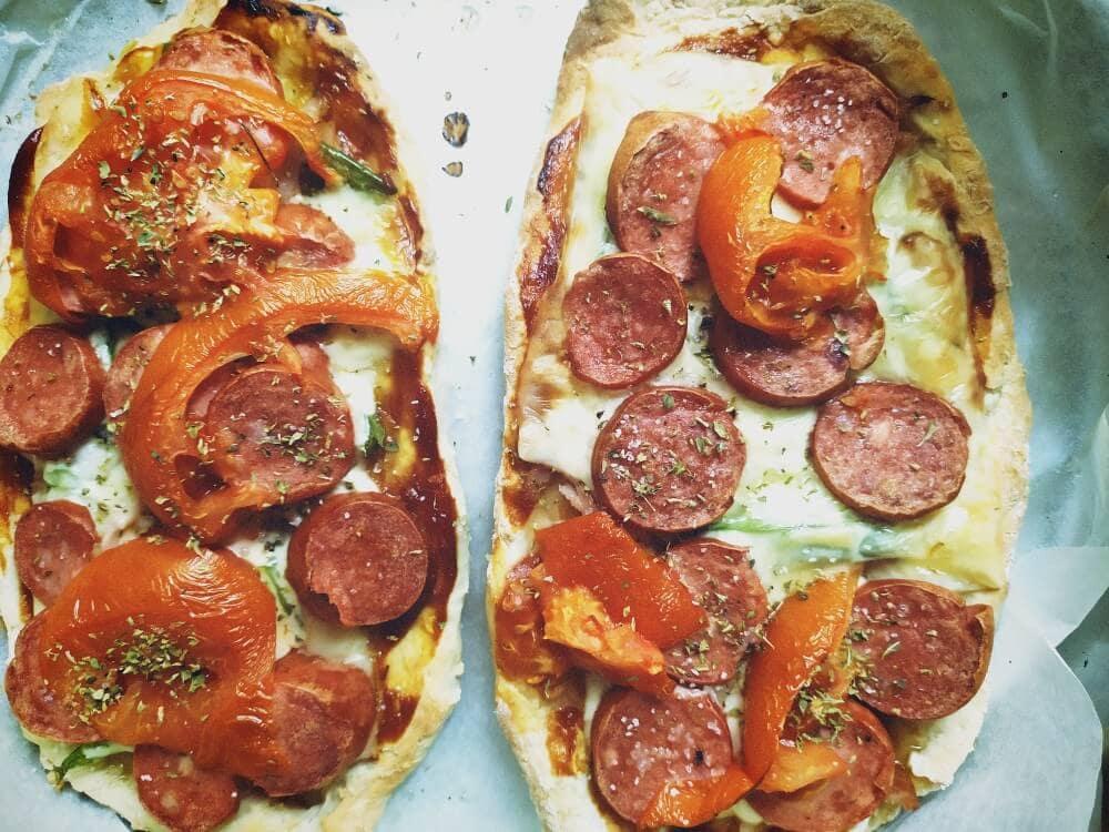 Ζύμη για πίτσα/ πεϊνιρλί με 2 μόνο υλικά