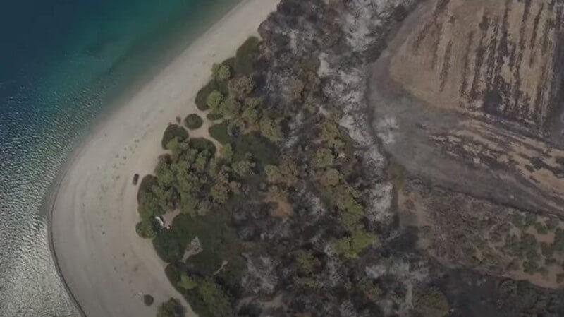 Εύβοια: Η βιβλική καταστροφή από ψηλά (βίντεο)